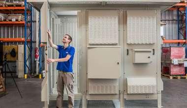 Cabina de intemperie protección IP23