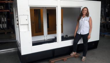 cabinas para grupos electrógenos y chasis especial