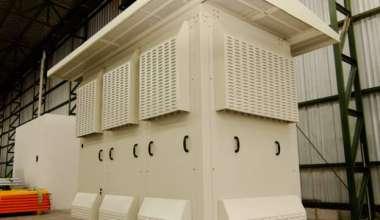 Gabinte Metálico tipo Shelter de grandes dimensiones