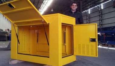 Cabina metálica Insonorizada